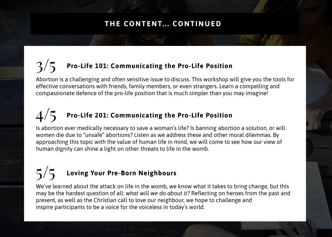 The Content con't